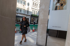 20180717-IMG_4914 (roger_thelwell) Tags: mayfair oxford circus uk london beautiful street photography bw black white portrait people urban city commuters winter cold hat hats mobile phone cell england hair fleet strand life natural walking talking conversation chat speak speaking beauty handbag stud studs lamppost lamp post shiny shiney leather smoking cigarette westminster traffic cab taxi bag sac shoulder mono monochrome great britain streets photographs real photographic photos candid rain umbrella group