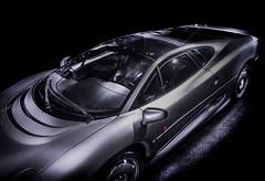 JAG (Dave GRR) Tags: jaguar xj220 supercar hypercar sportscar exoticcar toronto auto show 2019 monochrome mono olympus