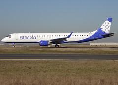 EW-513PO, Embraer ERJ-195LR (ERJ-190-200 LR), c/n 19000754, B2/BRU/Belarus Avia/Belavia/Belavia-Belarusian Airlines, CDG/LFPG 2019-02-15, taxiway Bravo-Loop. (alaindurandpatrick) Tags: b2 bru belarusavia belavia belaviabelarusianairlines airlines ew513po embraer embraerregionaljet erj erj195 embraererj195 cn19000754 jetliners airliners cdg lfpg parisroissycdg airports aviationphotography