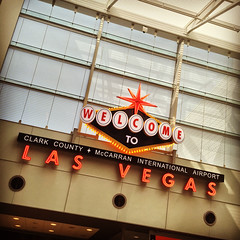 Welcome to Las Vegas (ahockley) Tags: airport lasvegas mccarran neon nevada signs welcome