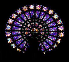 Saint-Augustin church (19th century) in Paris 8th (Sokleine) Tags: saintaugustin churchinterior église church catholic culte religion heritage monumenthistorique 19thcentury paris 75008 frenchheritage france rosase vitrail stainedglass cercle