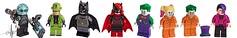 Updated Lego Batman Minifigures (Jacob Customs98) Tags: lego dc batman supervillian moc edit decals mr freeze riddler batwomen joker harley quinn arkham two face