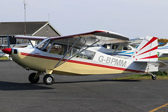 G-BPMM (GH@BHD) Tags: gbpmm championaircaft champion citabria 7eca aeronca ulsterflyingclub newtownardsairfield newtownards aircraft aviation