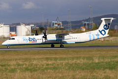 G-FLBA_10 (GH@BHD) Tags: gflba dehavilland bombardier dhc dhc8 dhc8402q dasheight be bee flybe bhd egac belfastcityairport aircraft aviation airliner turboprop