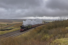 Flying North (4486Merlin) Tags: 60103 england europe exlner flyingscotsman heritagerailways lnerclassa3 northwest northyorkshire railways settlecarlislesc steam transport unitedkingdom selside gbr flyingscotsmanchristmasfellsman saltlakecottages irrt wcrc