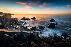 Blue Art (JohnLazo19) Tags: 1635mm canon5dmarkiv coast longexposure morning pch pacificcoasthighway rocks sunrise water