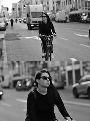 [La Mia Città][Pedala] (Urca) Tags: milano italia 2018 bicicletta pedalare ciclista ritrattostradale portrait dittico bike bicycle nikondigitale scéta biancoenero blackandwhite bn bw 118012