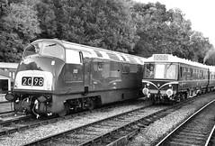 Highley Diesels (R~P~M) Tags: train railway diesel dmu locomotive multipleunit 108 42 warship highley severnvalleyrailway shropshire uk unitedkingdom greatbritain salop england