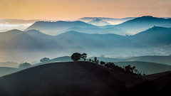 Layers (Chas56) Tags: landscape hills layers sunrise victoria australia rural canon canon5dmk4 light rays shadows