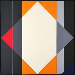 39 - 2018 - KONSTRUKTION GELB 2 (HolgerArt) Tags: konstruktivismus gemälde kunst art acryl painting malerei farben abstrakt modern grafisch konstruktiv