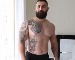 Sexy Assyrian Man (Parkhanita) Tags: assyrianmen sexy stud tattoo assyrians syrian turkish kurdish daddy gaybear bearded beautiful tattoos ashur sargon cute handsome