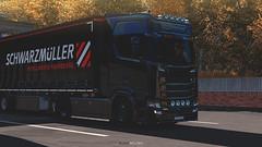 Finland (black_moloko) Tags: ets2 eurotrucksimulator2 scania screen nextgeneration schwarzmueller scandinavia trip truck travel