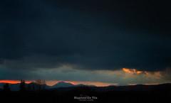 Storm (Maurizio Scotsman De Vita) Tags: natura landscape sunset nature mountains italia panorama clouds cielo tramonto abstract paesaggio abstractions sky nuvole astrazioni montagne astratto impressionistic impressionistico