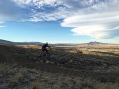 Beck Lake Bike Trails 6 - Cody Field Office (BLM_Wyoming) Tags: potatochip mountainbiking becklake cody wyoming jump heartmountain