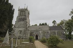 St. Andrew's Church. (watt.charlene) Tags: standrewschurch dorset lulworth church sky gravestones d5 nikon nikond5 building architecture