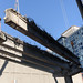 Removing a girder from the Columbia ramp