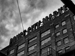 Ponce City Market (Cowppuccino) Tags: poncecitymarket atlanta atl cold windy noir building city clouds dark gloom ominous old market architecture georgia note8 galaxynote8 monochrome greyscale explore adventure comic comicbook