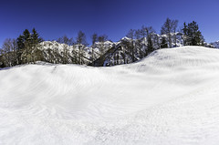 A7207209-Pano (rickwarner) Tags: canton glarus sã¼d braunwald hiking switzerland winter