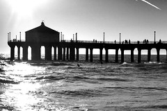 Manhattan Beach Pier (happystufff) Tags: pier manhattanbeach california
