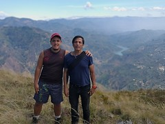 Today's ones go to my father's and beloved aunt Rosa's 71th birthday. My dad was who got me started in the love of hiking and exercise in general. My dad also motivated me to be (vantcj1) Tags: paisaje valle río horizonte montaña ladera pendiente embalse lago hierba vegetación padre hijo personas gente campo rural cielo nubes naturaleza familia