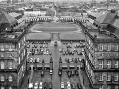 Blick von oben (schasa68) Tags: dänemark denmark kopenhagen trip city schwarzweis blackandwhite