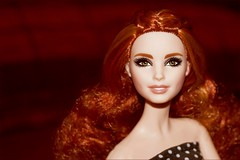 ...maybe bring out some dolls... (farmspeedracer) Tags: barbie doll woman girl photo fashion collector neysa redhead red hair sorcha global glamour collection