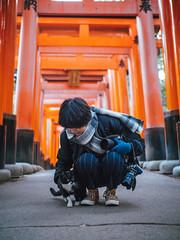 千本鳥居|京都 Kyoto (里卡豆) Tags: 京都市 京都府 日本 jp olympus 25mm f12 pro olympus25mmf12pro olympusem1markii em1ii