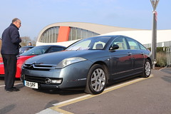 Citroen C6 Exclusive HDi D19SPF (Andrew 2.8i) Tags: haynes museum sparkford classic car cars classics breakfast meet show french luxury executive diesel saloon sedan hdi exclusive c6 citroen