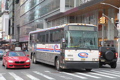 IMG_3834 (GojiMet86) Tags: njt jersey transit coach usa nyc new york city bus buses 2003 d4500 8893 nis not in service 42nd street 6th avenue