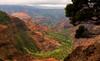 Man is free at the moment he wishes to be… (ferpectshotz) Tags: waimeacanyon waimea hawaii island kauai gardenisland storm rain cliffs grandcanyonofthepacific landscape canyon mountain sky clouds