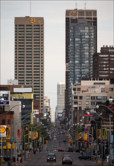 yonge_street_cibc_bay_tall_01_8773231455_o (wvs) Tags: downtown toronto building skyscraper texture brick reflection glass street ontario canada