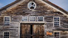 a barn in hollis (jtr27) Tags: dsc00302l sony alpha nex5n nex emount mirrorless sigma 30mm f28 exdn barn hollis maine newengland weathered wood