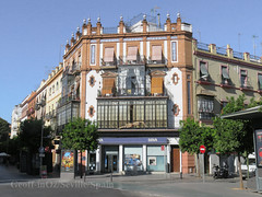Cnr Building, Triana, Seville, Spain (geoff-inOz) Tags: triana architecture seville spain heritage building andalusia residential commercial