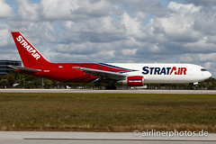 N351CM (Airlinerphotos.de) Tags: b767300 mia stratair northernaircargo