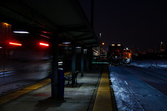 Western After Dark (BravoDelta1999) Tags: metra metx burlingtonnorthernsantafe bnsf railway chicagoburlingtonandquincy cbq railroad bnsfracetrack chicagosubdivision westernavenue yard lowerwestside chicago illinois ferromex fxe ge es44ac 4620 emd sd70ace f40phm2
