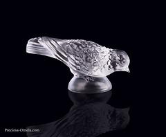 PRECIOSA_27879_figurine Sparrow II (PRECIOSA ORNELA) Tags: preciosaornela desna since 1847 decorative traditionalczechglass glass figurine statuette hand made ashtray devotional
