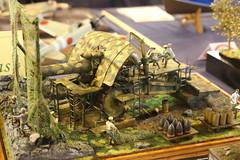 Grosse Bertha - Obusier Krupp de 420 mm (CHRISTOPHE CHAMPAGNE) Tags: 2019 belgique exposition maquette roselie fele maquettisme grosse bertha dicke krupp obusier 420 mm