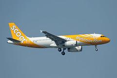 Scoot   A320-232   9V-TRU (Globespotter) Tags: bangkoksuvarnabhumi intl scoot a320232 9vtru