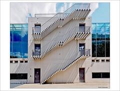 Auf oder Ab (dolorix) Tags: dolorix köln cologne universität university seminargebäude paulböhm architekt architecture feuertreppe treppe stairs