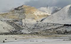 Sandmine (arbyreed) Tags: arbyreed mine sandmine sandandgravel pointofthemountain traverseridge genevarock utah county snow winter cold