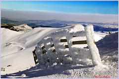 La nature artiste....... 1/2 (philippedaniele) Tags: neige givre montagne crête barrière gel cristaux montdore sancy pistes auvergne thebestofeurope