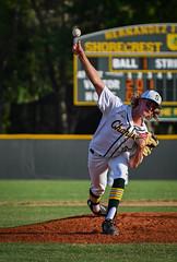 Baseball (Beth Reynolds) Tags: baseball game season highschool pitch action motion freeze fast sports