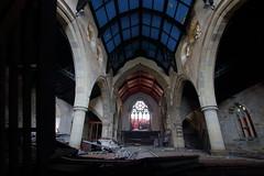 Church of Costa8 (Landie_Man) Tags: church costa urbex yorkshire coffee st andrews derp derpy religion abandoned disused closed shut retail survivor