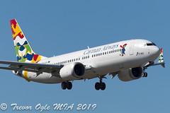 DSC_3013Pwm (T.O. Images) Tags: cayman airways boeing 737 max mia miami florida
