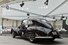 Alfa Romeo 6C 2300 B Berlinetta 1937 (tautaudu02) Tags: alfa romeo 6c 2300 b berlinetta vente bonhams 2016 paris grand palais auto moto cars coches voitures automobile
