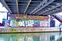 295 - Paris - Février 2019 - le long du Bassin de La Villette (paspog) Tags: paris france février februar february 2019 bassindelavillette canal kanal pont bridge brücke