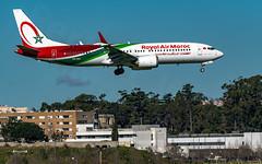 CN-MAX Royal Air Maroc Boeing 737-8 MAX (José M. F. Almeida) Tags: cnmax royal air maroc boeing 7378 max lppt lis airport lisboa lisbon