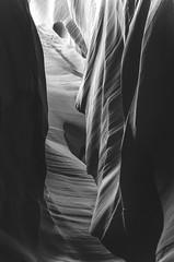 Upper Antelope Canyon (Jaime Pérez) Tags: usa arizona blancoynegro blackandwhite antelopecanyon cañón eeuu us canyon
