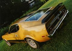 mach006 (72grande) Tags: ford mustang machi t5 1973 tstt21 mediumyellowgold 6c mediumginger ronal