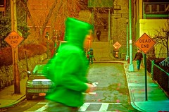 The ghost runner (Capitancapitan) Tags: ghost runner people manhattan nyc new york bronx pentax colors camera picture photography street